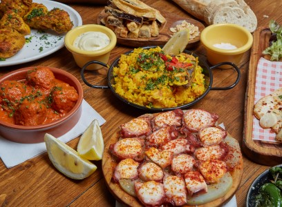 A range of traditional tapas dishes by Ole Ole
