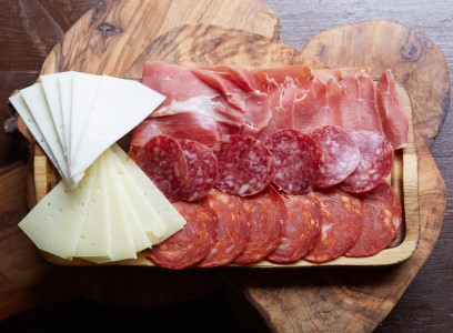 A selection of Spanish Cheese and Meats